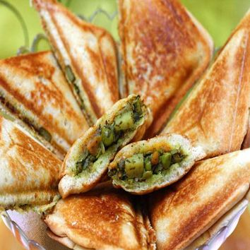 Recipes - Vegetable Toasties