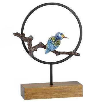 Iron Parrot Ornaments Home Decoration Furnishing   small
