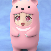 Pink Bear Face Parts Case Nendoroid More (Pre-Order)