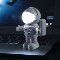 Creative Spaceman Astronaut LED Flexible USB Light for Laptop PC Notebook