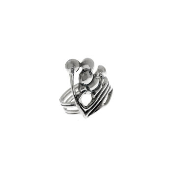 Belle Nouveau Beardsley Sterling Silver Ring