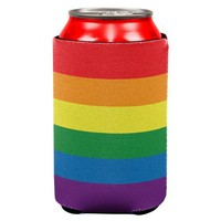 ONETOW Rainbow Gay Pride Flag All Over Can Cooler