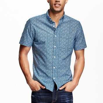 Old Navy Slim Fit Oxford Shirt For Men