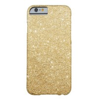 Gold Glitter Luxury iPhone 6 Case