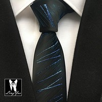 Fashion Designers Slim Tie Mens High Level Necktie Microfiber Cravates