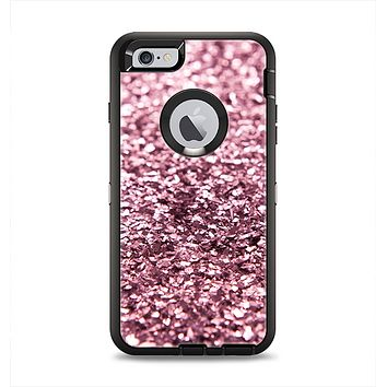 The Subtle Pink Glimmer Apple iPhone 6 Plus Otterbox Defender Case Skin Set
