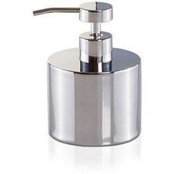 MV Deco Stainless Steel Bathroom Standing Pump Liquid Soap Lotion Dispenser