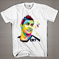 CR7 WPAP  Mens and Women T-Shirt Available Color Black And White