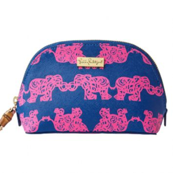 Lilly Pulitzer Bamboo Cosmetic Case