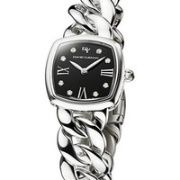 Women's David Yurman 'Albion' 23mm Stainless Steel Quartz Watch with Diamonds