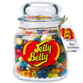 Jelly Belly 49 Flavors Jelly Beans Apothecary Jar