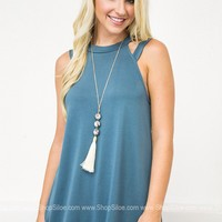 Sophie Teal Tunic
