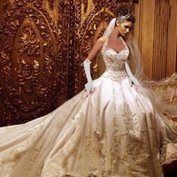 Revealed: Jessica Simpson's Wedding Gown