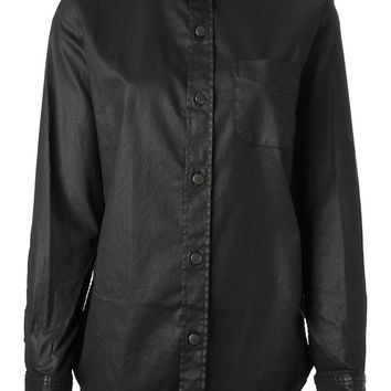 Current/Elliott 'The Prp School' coated shirt