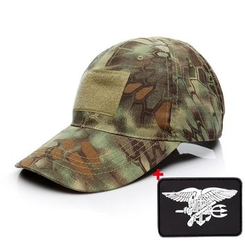 Trendy Winter Jacket Men Baseball Cap Tactical Militar Army Special Force  Camo Snapback Hat Summer Casual Cap Hunter Camouflage  Hat AT_92_12