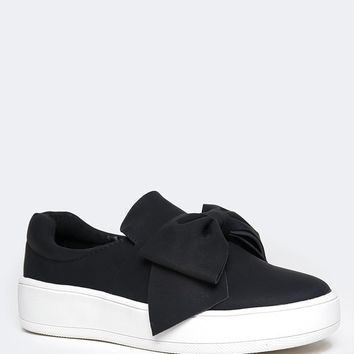 Wally Bow Platform Sneakers