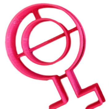 Girl Sign Cookie Cutter