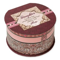 Pink Belle Papier Daughter Music Box - Perfect Daughter Gift