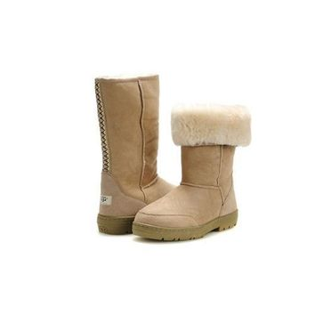 Discount Ugg Boots Ultra Tall 5245 Sand For Women 85 77