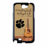 Ed Sheeran Guitar And Song Quotes Samsung Galaxy Note 2 Case