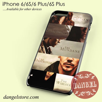 the mortal instruments city of bones main characters Phone case for iPhone 6/6s/6 Plus/6S plus