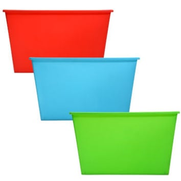 Bulk Bright Plastic Locker Bins at DollarTree.com