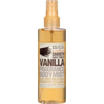 NSPA Smooth Sweet Pods of Vanilla Fragrance Body Mist, 6.76 fl oz - Walmart.com