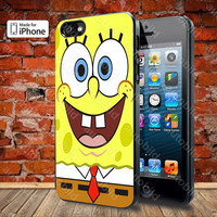 Spongebob Squarepants Case For iPhone 5, 5S, 5C, 4, 4S and Samsung Galaxy S3, S4