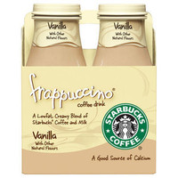 Walmart: Starbucks Frappuccino Vanilla Light Coffee Drink, 9.5 oz, 4pk