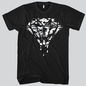 Diamond Camo Unisex T-shirt Funny and Music