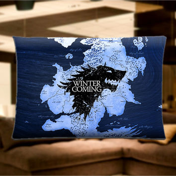 "Game Of Thrones Pillow Case Cover Bedding 30"" x 20"" Great Gift"