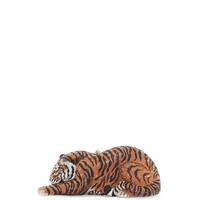 Tiger Crystal Minaudiere, Copper - Judith Leiber Couture