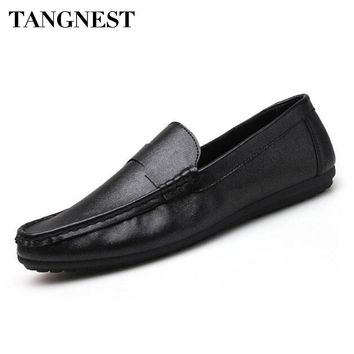 Men's Slip-on Flat Loafers by Tangnest