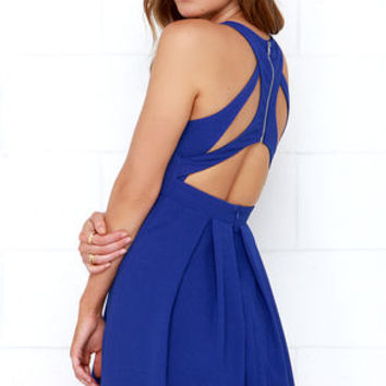 Test Drive Cobalt Blue Dress