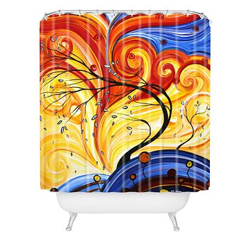 Madart Inc. Whirlwind Shower Curtain