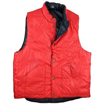 Reversible Vest in Navy and Red by Castaway Clothing - FINAL SALE
