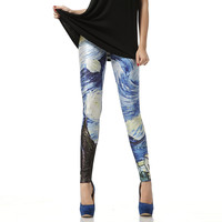 Van Gogh The Starry Night Leggings Pant