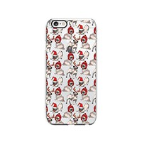 Cute Pug Dog Merry Christmas Transparent Silicone Plastic Phone Case for iphone 7 _ LOKIshop (iphone 7)