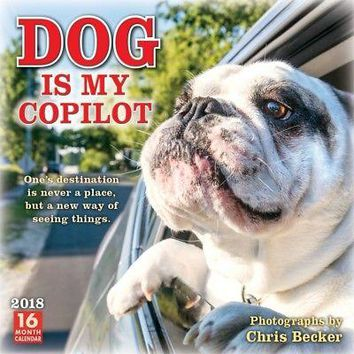 Dog is My Copilot Wall Calendar, Assorted Dogs by Sellers Publishing