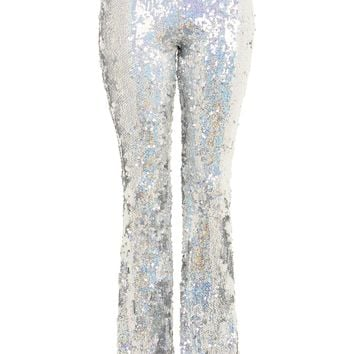 Premium Flared Sequin Trousers - New In Fashion - New In