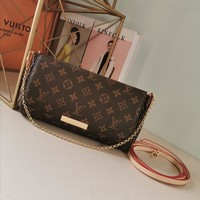 DCCK Gb2981 Louis Vuitton Lv M40718 Monogram Handbags Cross Body Bags Favorite Mm 28*17*4cm