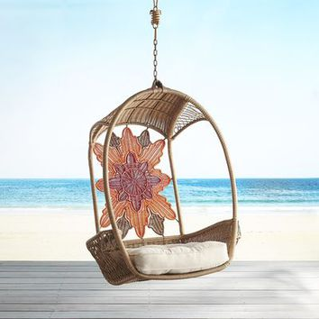 Swingasan® Sunset Light Brown Hanging Chair