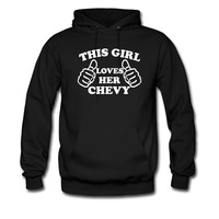 This Girl Loves Her Chevy hoodie sweatshirt tshirt