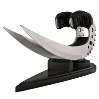 Chronicles Of Riddick Knife Set - Silver Blades