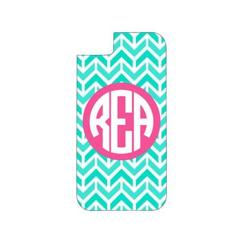Monogrammed aztec chevron iphone case, monogram phone case,monogram phone cover, monogrammed iphone case,monogrammed iphone cover,