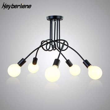 LED Ceiling Lights Luminaria Ceiling Light Lamp Fixtures Lustre Luminaire Vintage Lamps For Living Room Home Lighting Fixture