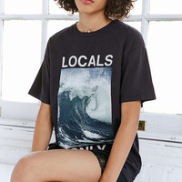 Truly Madly Deeply Locals Only Wave Tee - Urban Outfitters