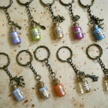 Harry Potter Potions Key Chain Collection (10 different options)