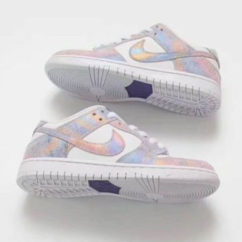 """NIKE"" AIR Fashion Women Running Sport Casual Shoes Sneakers Shining Rainbow Color G-A0-HXYDXPF"