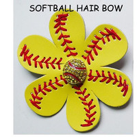 Softball or Baseball clips for flip flops, scarf, hats, hair